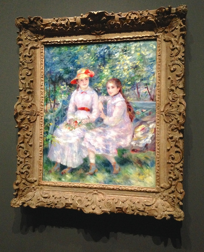 Les Filles de Paul Durand- Ruel, Marie Thérèse et Jeanne, Pierre Auguste Renoir. Foto: Amanda Corrêa.