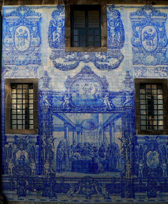 Detalhe da Capela das Almas. Foto peregrino27.